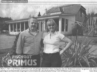 """Räucherkate Primus"" eröffnet"