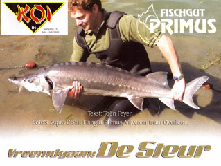 Big sturgeon report about Fischgut Primus