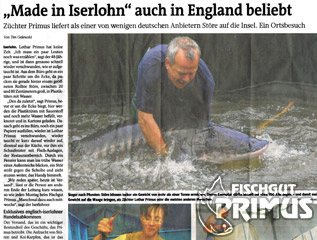 """Made in Iserlohn"" also popular in England"